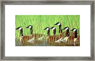 The Group Of Seven Framed Print