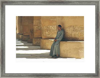 The Guardian .. Framed Print by A Rey