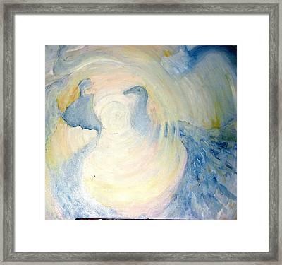 The  Guardian Angels  Framed Print by Shoshana Donaya