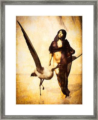 The Guardian Framed Print by Bob Orsillo