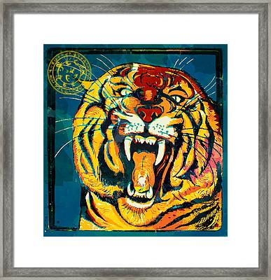 The Guardian Framed Print by Gary Grayson