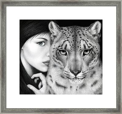 The Guardian Framed Print by Pat Erickson