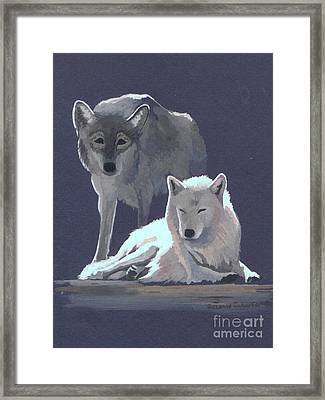 The Guardian Framed Print by Suzanne Schaefer
