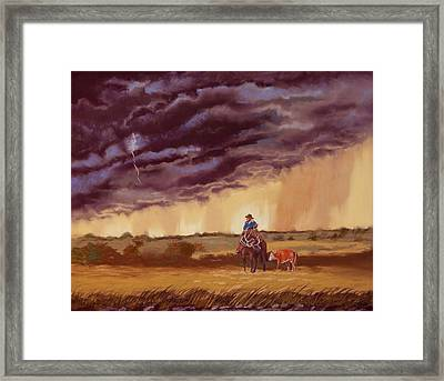 The Guardian Framed Print by Tanya Provines