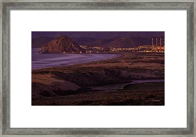 The Guardian--- Morro Bay Framed Print