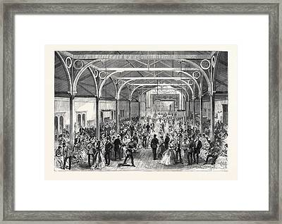 The Guards Institute Vauxhall Bridge Road London The Ball Framed Print
