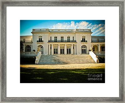 The Guggenheim Library Framed Print