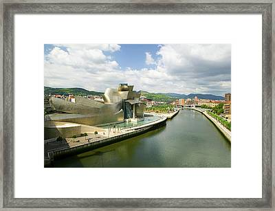 The Guggenheim Museum Of Contemporary Framed Print