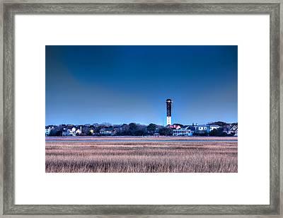 The Guiding Light Framed Print by Walt  Baker