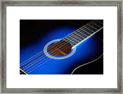 Framed Print featuring the photograph The Guitar by Keith Hawley