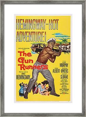 The Gun Runners, Us Poster Art, Audie Framed Print