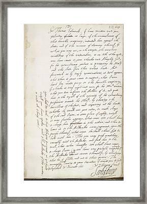The Gunpowder Plot Framed Print by British Library