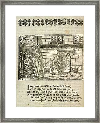 The Gunpowder Plot Conspirators Framed Print by British Library