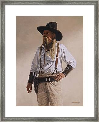 The Gunslinger Framed Print