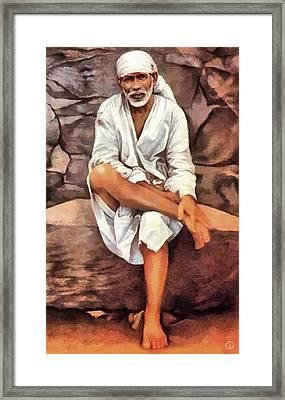 The Guru Framed Print by Gun Legler