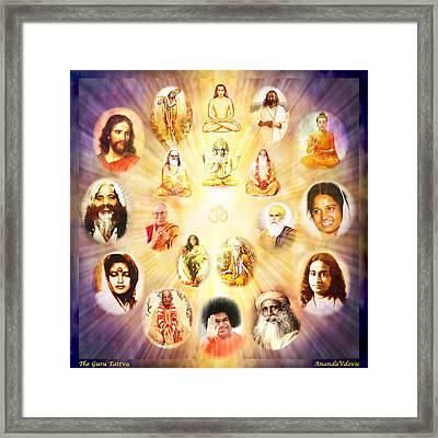The Guru Tattva Framed Print