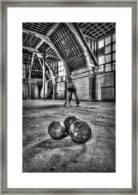 The Gym Framed Print by Jason Green