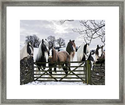 The Gypsies Framed Print