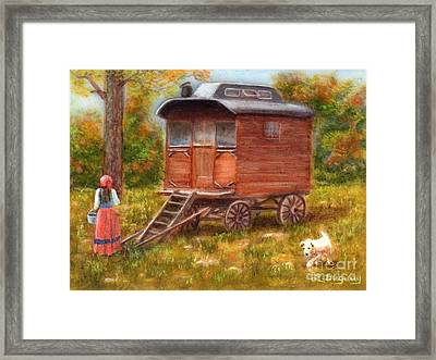 The Gypsy Caravan Framed Print