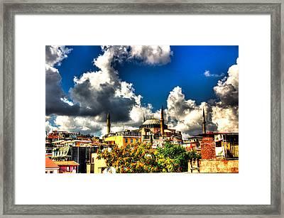 The Hagia Sophia Framed Print by Mark Alexander