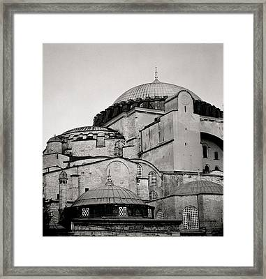 The Hagia Sophia Framed Print