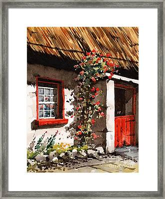 The Half Door Framed Print