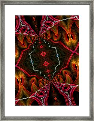 The Hall Of The Apostolates Framed Print