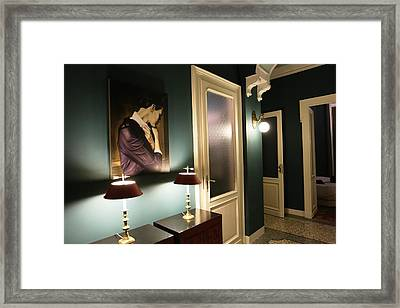 The Hall Framed Print by Roberto Galli della Loggia