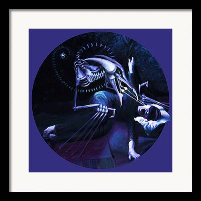The Hallucinator Framed Prints