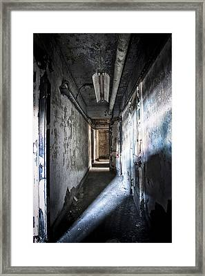 The Hallway Framed Print by Jessica Berlin