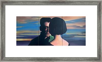 The Hammer Of Love Framed Print by Geoff Greene
