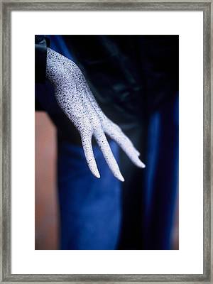 The Hand Framed Print