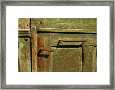 The Hands That I Have Seen Framed Print