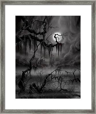 The Hanged Man II Framed Print by James Christopher Hill