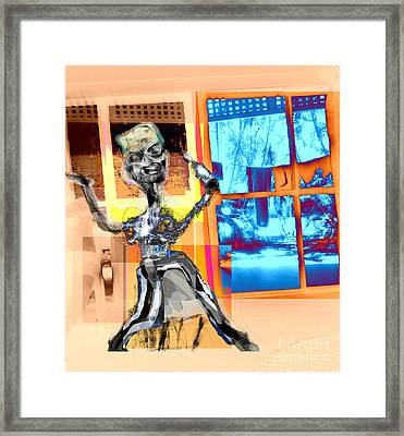 The Happy Drunk Framed Print by Rc Rcd