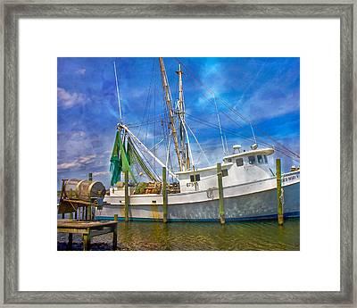 The Harbor II Framed Print by Betsy Knapp