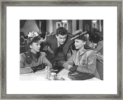The Hard Way, From Left Ida Lupino Framed Print