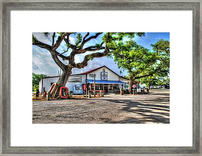 Framed Print featuring the digital art The Hardware Store by Michael Thomas