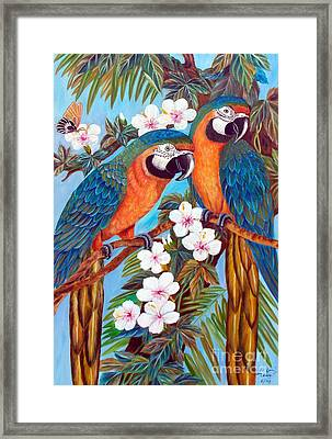 The Harlequin  Framed Print by To-Tam Gerwe