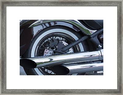 Framed Print featuring the photograph The Harley- Is There Really Anything Else by Renee Anderson