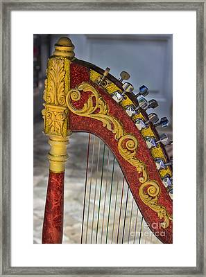 The Harp Framed Print by Al Bourassa