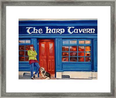 The Harp Tavern Framed Print