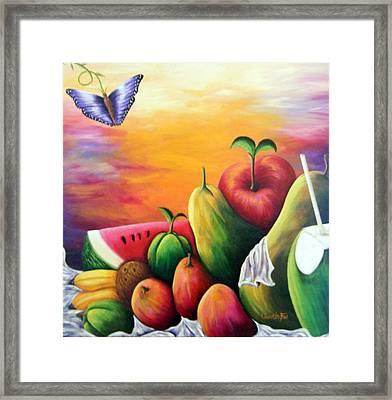 The Harvest 1 Framed Print