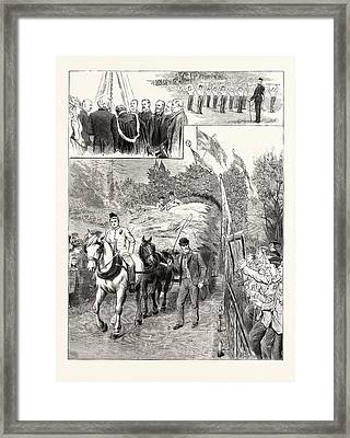 The Harvest At The Philanthrophic Home For Boys At Redhill Framed Print