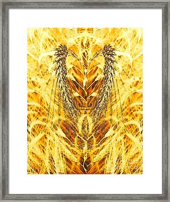 The Harvest Is Plentiful The Laborers Are Few Framed Print by PainterArtist FIN