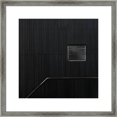 The Hatch Framed Print by Gilbert Claes