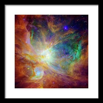 Universe Framed Prints