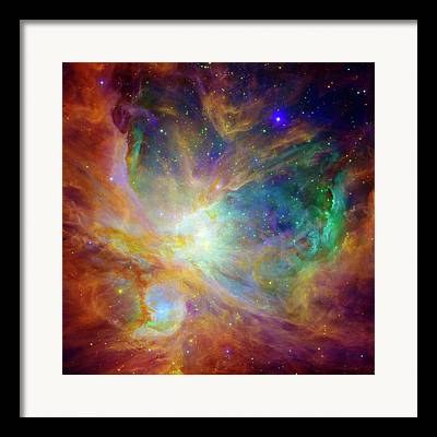 Deep Outer Space Framed Prints