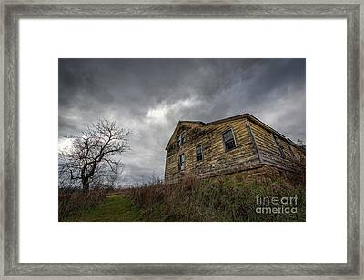 The Haunted Color Framed Print by Michael Ver Sprill
