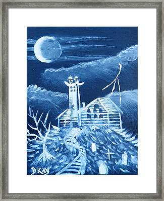 The Haunted Framed Print by The GYPSY And DEBBIE